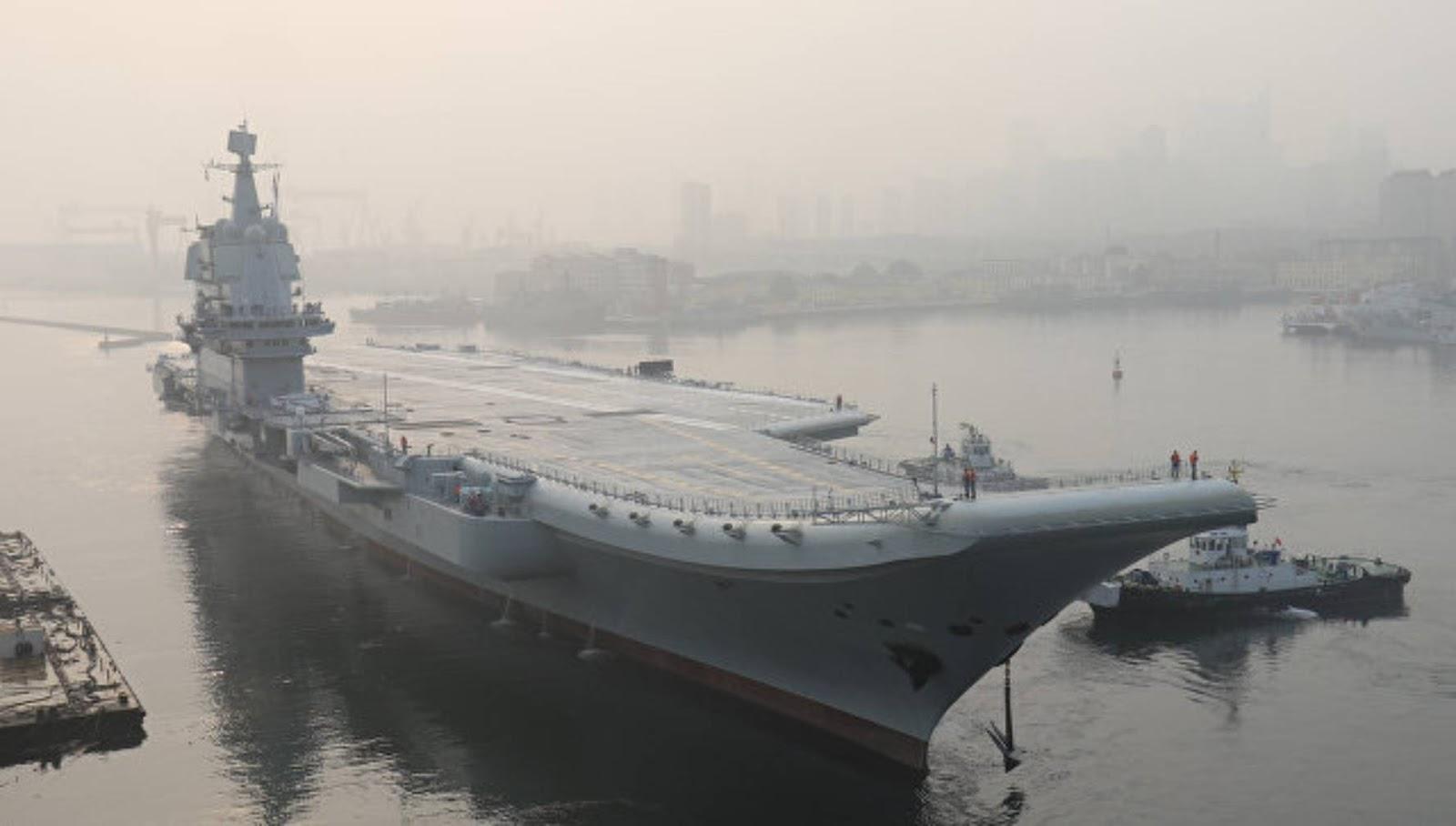 Dua kapal induk Cina akan berpartisipasi dalam latihan di Laut Kuning