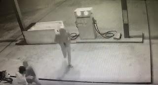 Posto de combustível de Pedra Lavrada é assaltado nesta segunda; veja vídeo