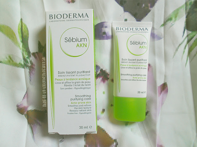 Bioderma Sébium AKN Smoothing Purifying Care recenzia