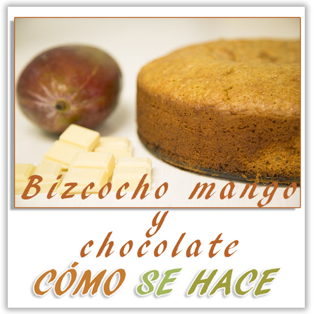 Bizcocho Casero De Chocolate Y Mango
