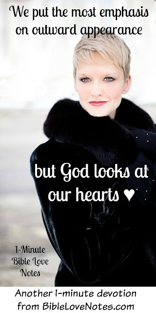 God judges hearts 1 Samuel 16:7, hearts, appearance