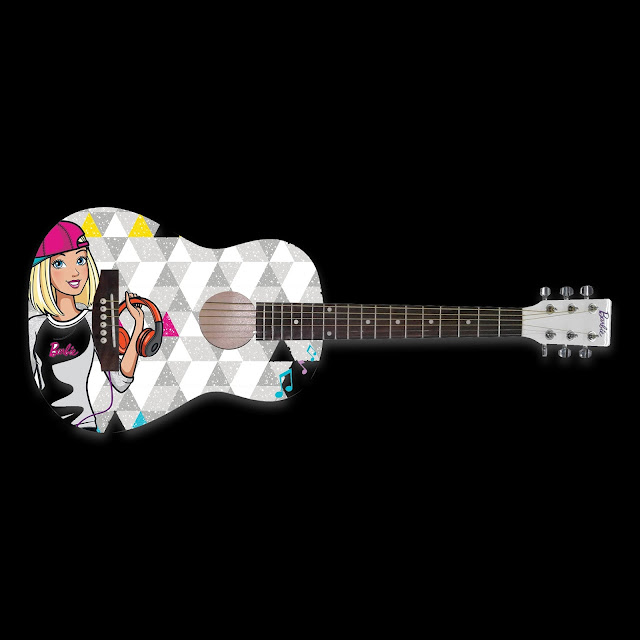 D&D Custom Guitars Barbie DBA Acoustic Guitar Ranneveryday