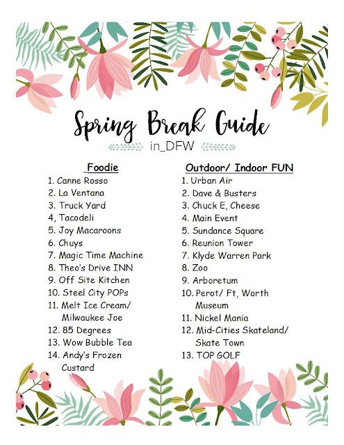 Spring Break Guide