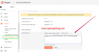Fix Google Adsense Ads.Txt File To Blogger Blogs Issues