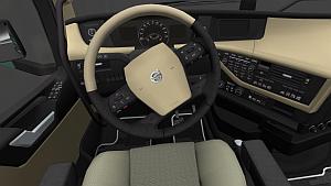 New Volvo FH16 HD Interior v1.1