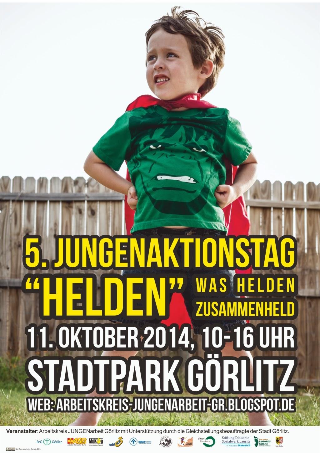 5. Jungenaktionstag in Görlitz - 11. Oktober 2014