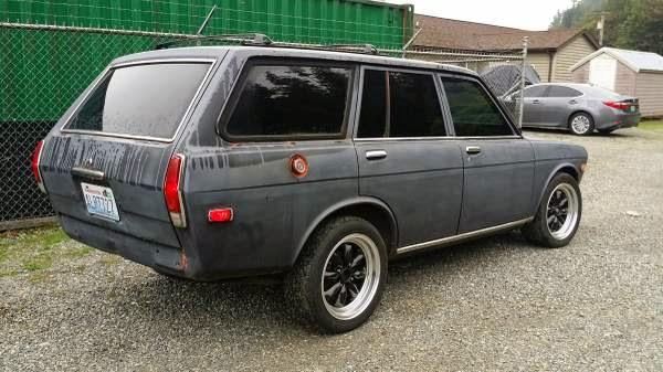 1971 Datsun 510 Wagon Project Auto Restorationice