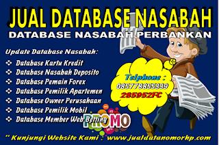 Database Nomor Handphone Aktif Seluruh Indonesia