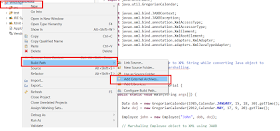 How to add JAR file in Eclipse Project Build path - External