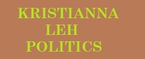 KRISTIANNA LEH POLITICS