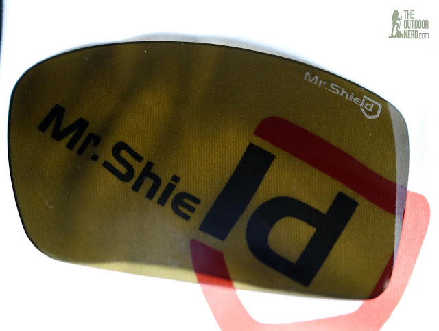 Walleva Mr. Shield Lenses -- Logo Closeup