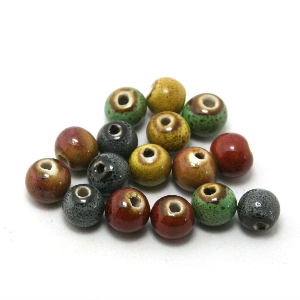 Top bracciale perle ceramica ZF55