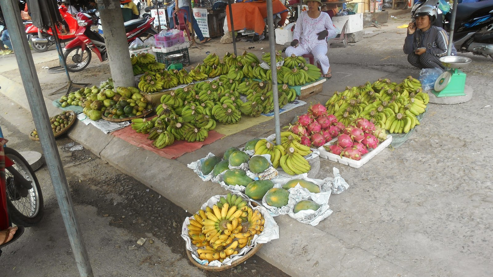 Рынок на севере Нячанга
