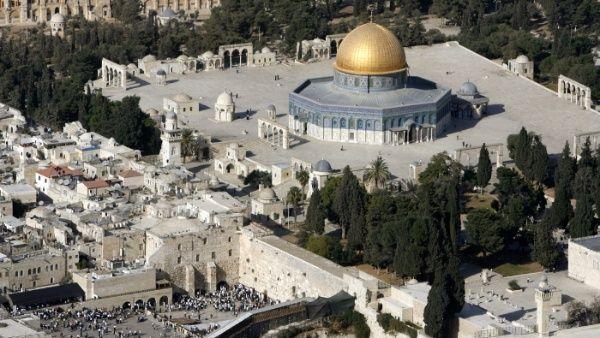 Mezquita en Jerusalén se incendió a la par con Notre Dame