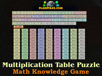 Multiplication Table Puzzle