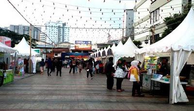 Ngabuburit di Kota Bandung