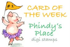 Card of the Week bij Challenge 54