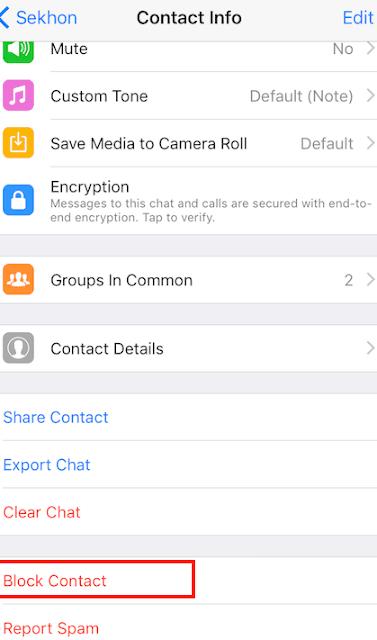 Begini Cara Memblokir atau Memblokir Kontak di WhatsApp Dari Android dan iPhone 3