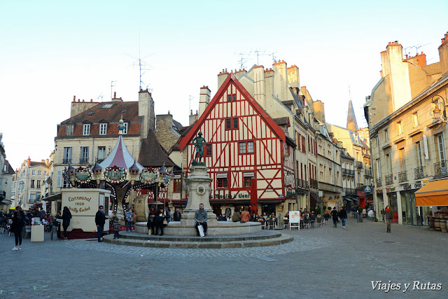 Place François Rude de Dijon