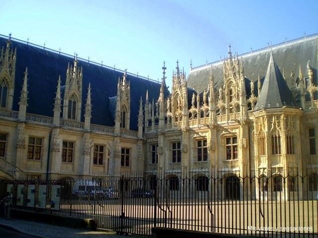 Palacio de Justicia, Rouen, Alta Normandía, Francia
