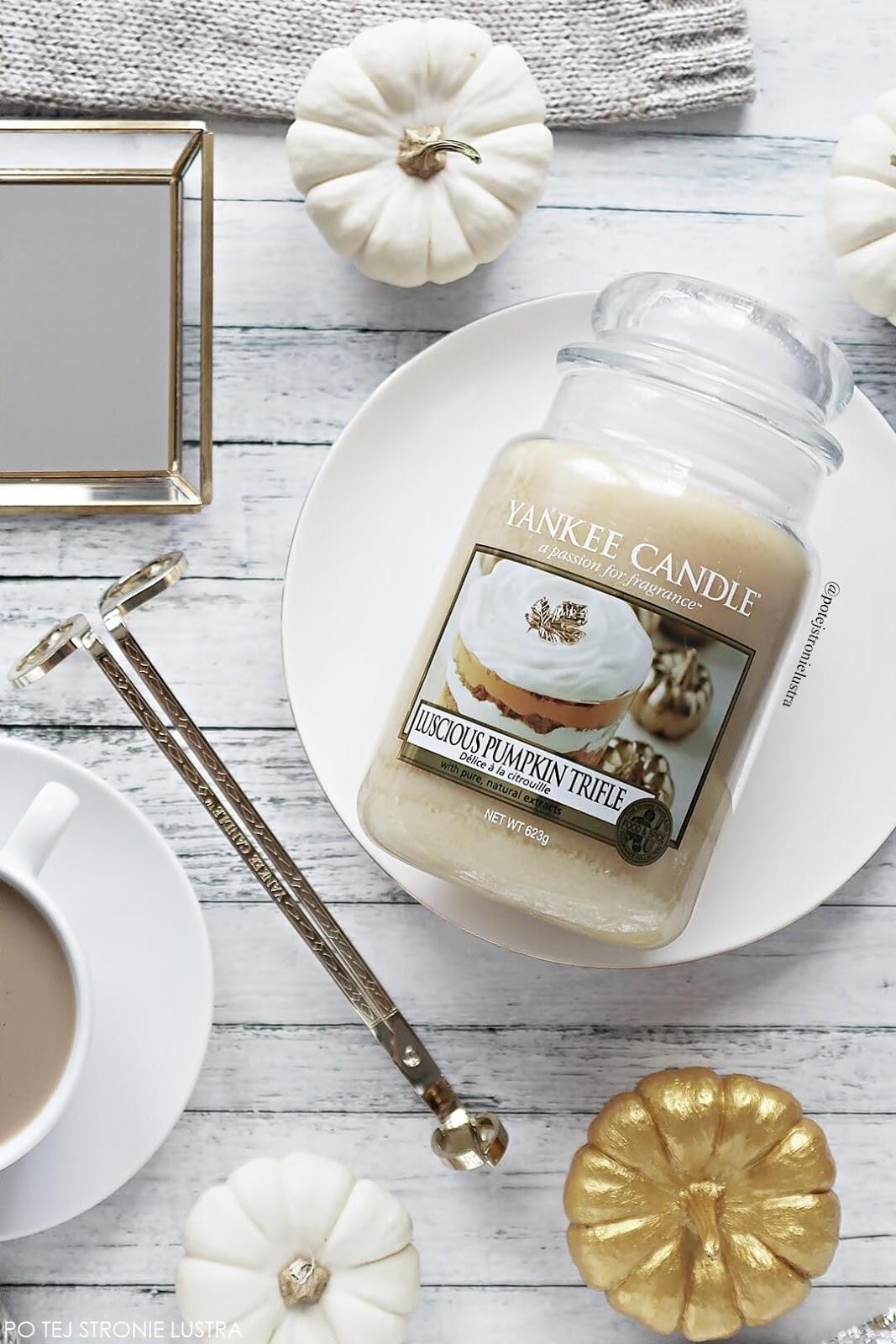 yankee candle luscious pumpkin trifle limitowany zapach na jesień 2018