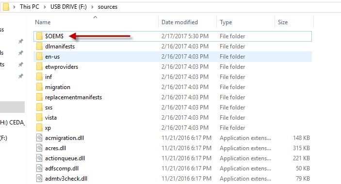 Cách sao chép file vào desktop trong quá trình cài đặt Windows