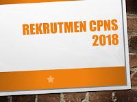 Informasi Terbaru Rekrutmen CPNS 2018