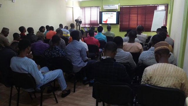 Bloggers And Internet Marketes Turns Up At Seminar Hosted By Webmaster Adesanya Sunday Today (Photos)