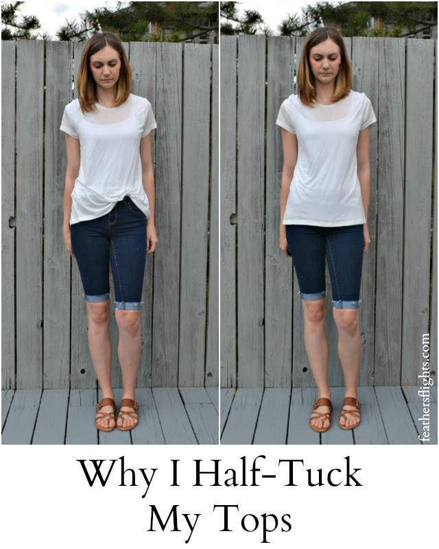 Why I Half-Tuck My Tees