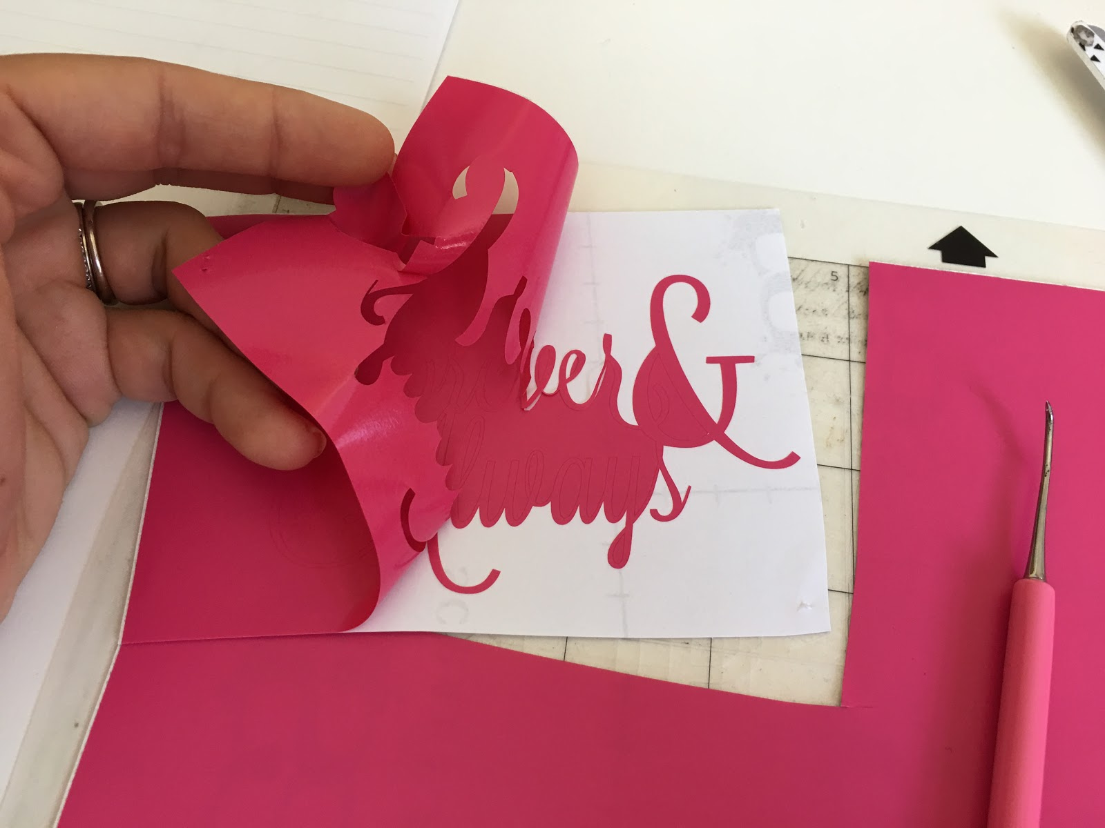 Cutting Vinyl With Silhouette Cameo For Beginners