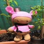 patron gratis conejo tekubi amigurumi | free pattern amigurumi tedubi rabbit
