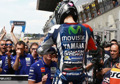 Klasemen Sementara MotoGP Usai GP Le Mans, Prancis 2016