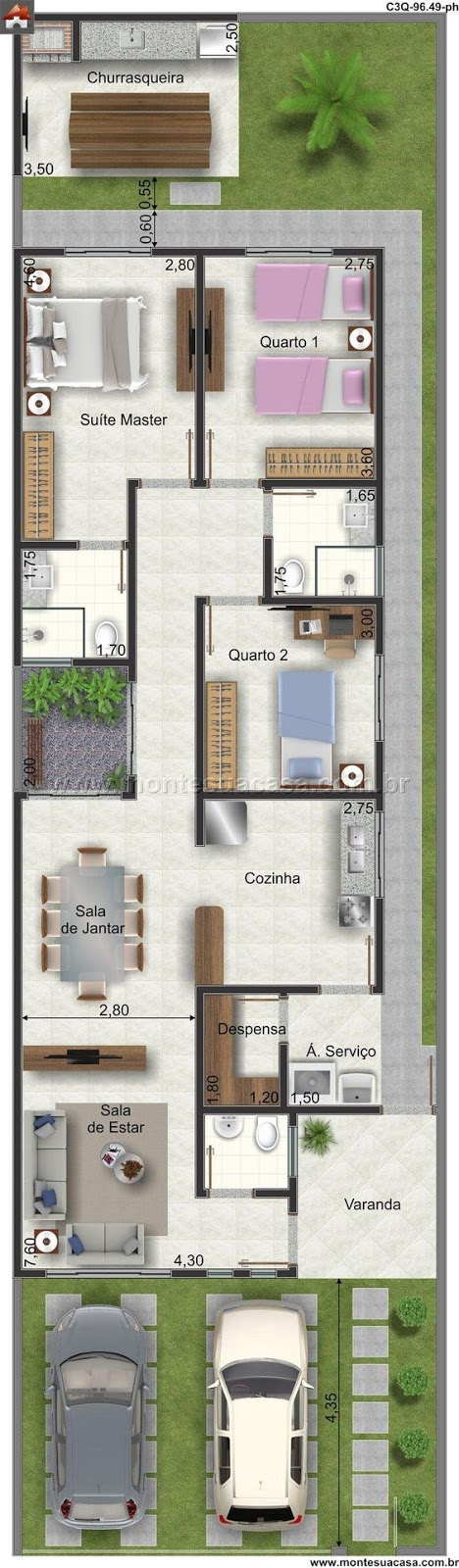 luxury villas tuscany 3 bedrooms, double garage, and large green area
