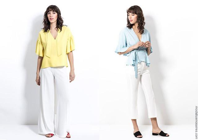 Moda urbana primavera verano 2019. Ropa de mujer 2019.