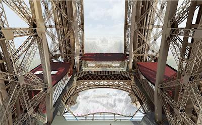 La Tour Eiffel: rénovation de son premier étage