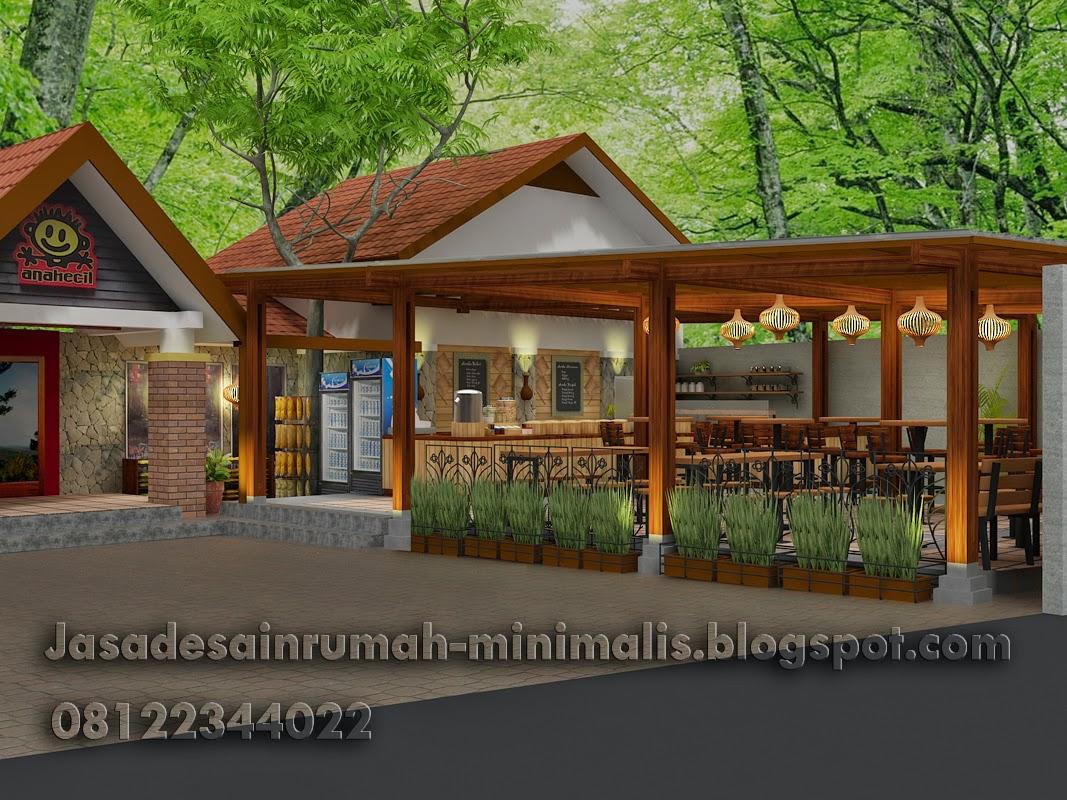 Model Rumah Minimalis Warung Gambar Desain Rumah Minimalis