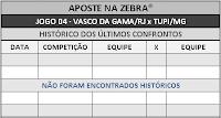 LOTECA 702 - HISTÓRICO JOGO 04