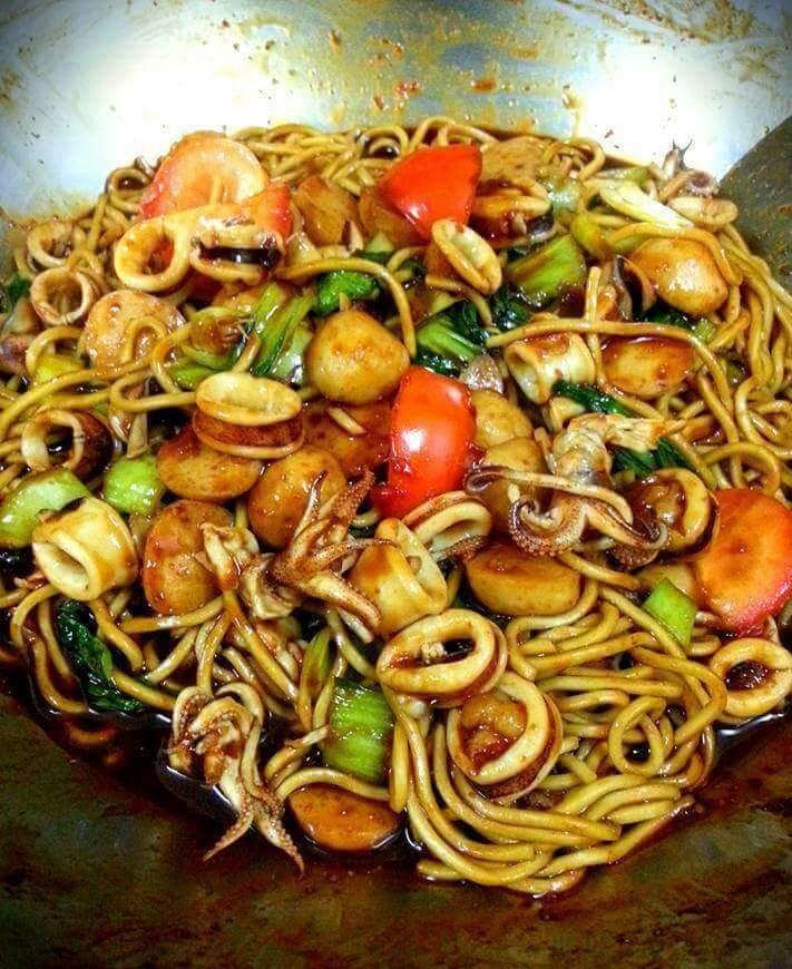 resepi mee goreng basah mudah resepi ringkas tapi sedap Resepi Mee Goreng Ratna Enak dan Mudah