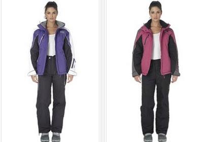 Conjuntos de chaqueta y pantalón de esquí