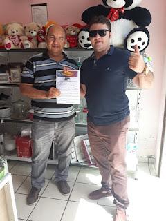 Venda Premiada entrega moto nova para sorteado do grupo 7º no mês de julho