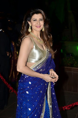 Sangeeta Bijlani in Arpita Khan wedding