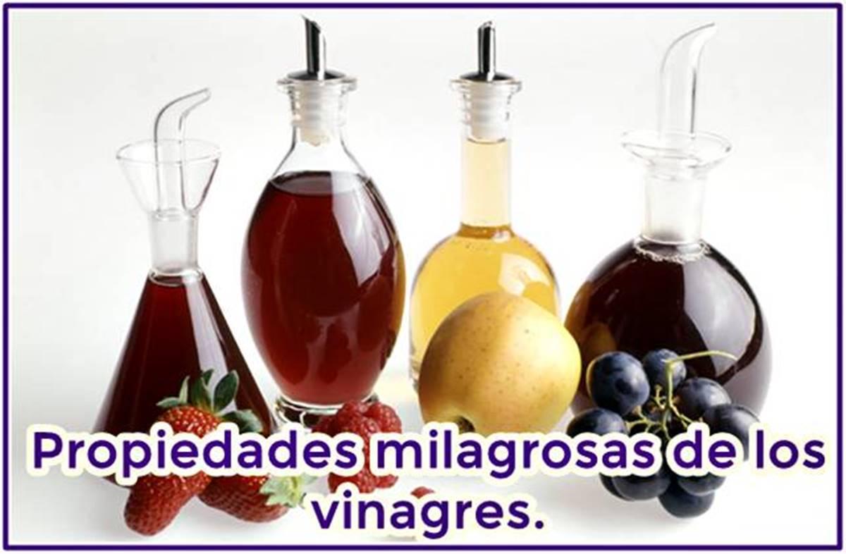 Milagrosas propiedades de consumir vinagre