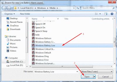 Aplikasi Pengingat Baterai Laptop Lemah (Lowbet) atau Penuh (Full)