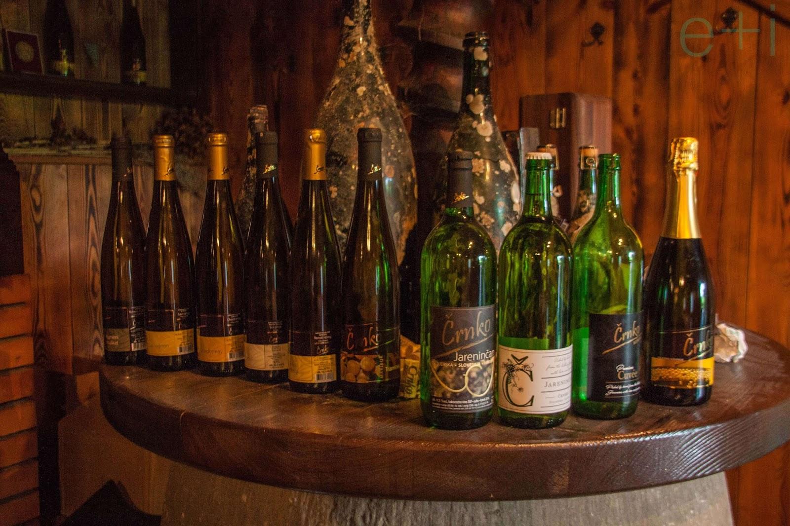 Los vinos Črnko