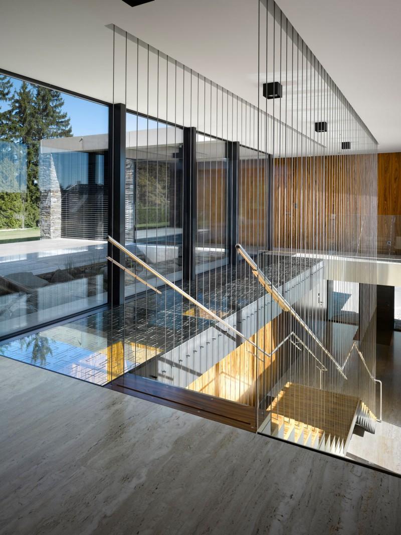 Hogares frescos villa de dos pisos con dise o ultra elegante for Diseno pisos