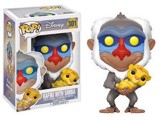 Funko Pop! Rafiki with Simba