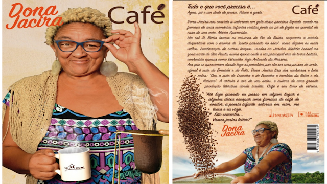 Café é o primeiro livro de Dona Jacira.