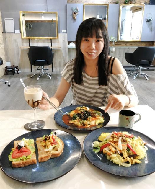 儷名髮廊~台北捷運行天宮站素食、髮廊結合Vegn素食