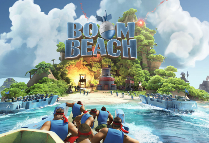Boom Beach App Gameplay