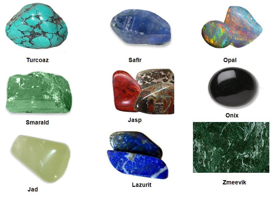 pietre pretioase si semipretioase